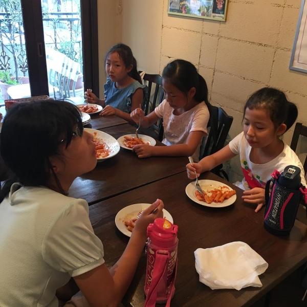 みんなで試食!おいしくできました!#ちびっこうべ  #ちびっこうべ2016  #こどものまち  #KIITO #アランチェート