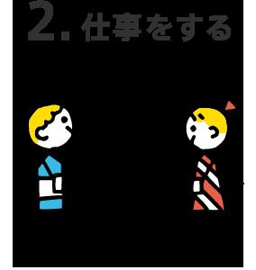 2.仕事をする