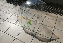<透明ビニール傘にデコレーション> +わくわく体験(3色から12色の色をつくろう) 親子向け・色彩と造形ワークショップ