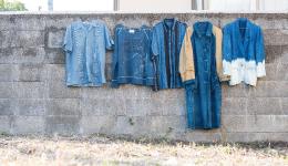 ものづくりワークショップ「somerude坂本さんと、古着を藍染めする。」