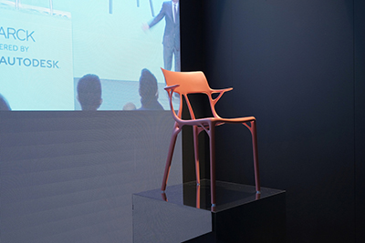 《A.I.Chair》Kartell