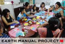 フィリピンのアーティスト・アルマさんによる アートで親子コミュニケーション ワークショップ