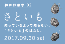 神戸野菜学vol.3 里芋