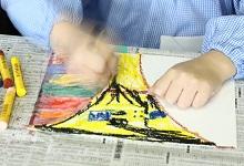 <子どもたちのための>色彩と造形教室 2017年9月
