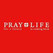 PRAY+LIFEロゴ