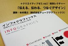 +クリエイティブゼミvol.7 特別 レクチャー|伝える、伝わる、つなぐデザイン