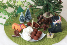 Meets+Design 林周平×サタケシュンスケ「カシュカシュの森 ~お菓子の森でかくれんぼ~」